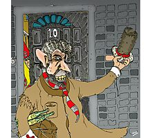 Tony Blair: Number Ten Cartoon Caricature Photographic Print