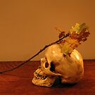 vanitas skull and oak by sue skitt