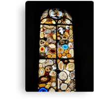 The agate window I Canvas Print