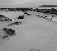 Hearts on the Beach by Andrew Bourke