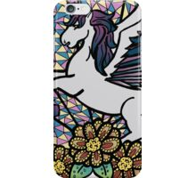 Stained Glass Unicorn iPhone Case/Skin