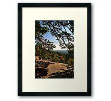 A Great Fall Scene Framed Print
