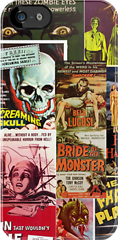 Monster Movie Posters 2 by Jenn Kellar