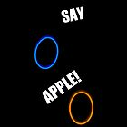SAY APPLE!!!! by bgold92