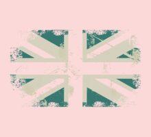 grungy UK flag One Piece - Long Sleeve