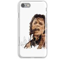 Micheal Jackson signature iPhone Case/Skin