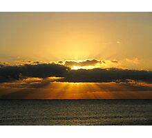 Winter Solstice Sunrise 2011 Photographic Print
