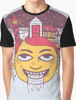 The Land of Headarea Graphic T-Shirt