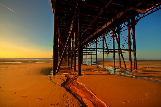 Under The Pier by John Hare