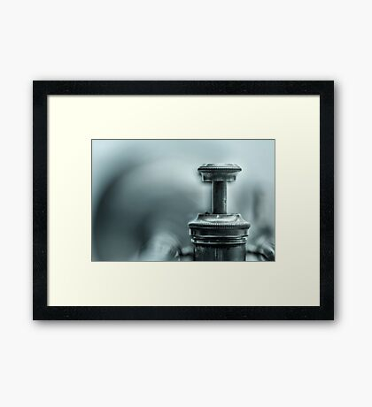 Kind of Blue... Framed Print