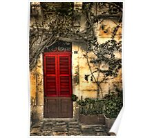 The Red Shutters Poster