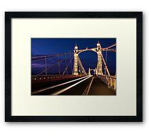 Albert Bridge, London Framed Print