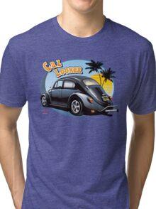 80's Cal Look VW Beetle Tri-blend T-Shirt