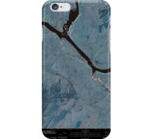 USGS Topo Map Washington State WA Starbuck West 20110405 TM Inverted iPhone Case/Skin