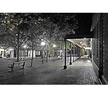 Corbett Plaza Bowral: 01:38 Photographic Print