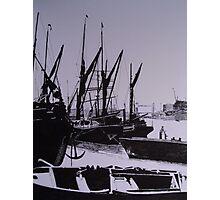 London Docks (1800)s Photographic Print
