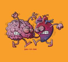 Heart vs Brain by Zoo-co