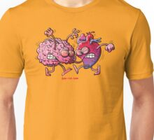 Heart vs Brain Unisex T-Shirt