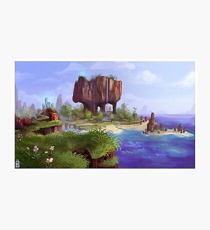 Minecraft Photographic Print