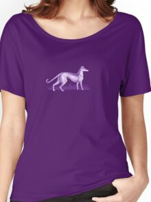 Sam's Purple Whippet Women's Relaxed Fit T-Shirt