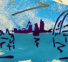 (copy of) Brendans Saturday Sydney 3 out of 5. Sticker
