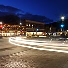 Corner Light Trails by Ryan Davison Crisp
