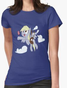 Derpy Love (derpy loves you) Womens Fitted T-Shirt