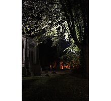 Graveyard illumination Photographic Print