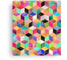 Colorful Cubes Canvas Print