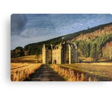 Clan Menzies Castle Metal Print