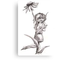 Garden Pixie Canvas Print