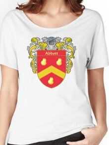 Abbott Coat of Arms/Family Crest Women's Relaxed Fit T-Shirt