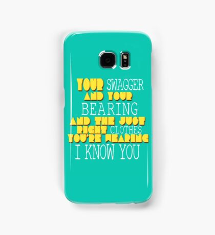 Your Swagger  Samsung Galaxy Case/Skin