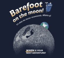 Doctor Who: Barefoot on the Moon Redux Kids Tee