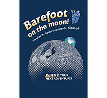 Doctor Who: Barefoot on the Moon Redux Photographic Print