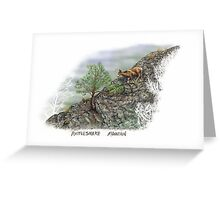 Rattlesnake Mountain Greeting Card