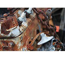 A Classic Mini engine Photographic Print
