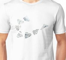 paper airplane Unisex T-Shirt