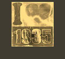 I love 1935 - Vintage Unisex T-Shirt