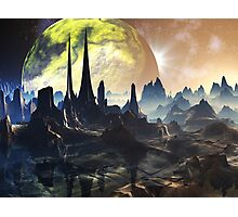 Hyperious Temple Ruins - Planet Ryjal Photographic Print