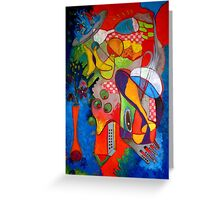Happy Hour in Little Italy Greeting Card