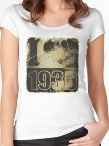 I love 1936 - Vintage Women's Fitted Scoop T-Shirt