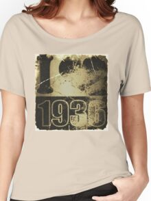 I love 1936 - Vintage Women's Relaxed Fit T-Shirt