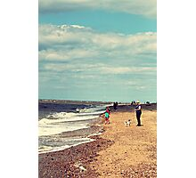 Beach fun Photographic Print