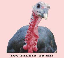 You Talkin' to Me? Turkey One Piece - Short Sleeve