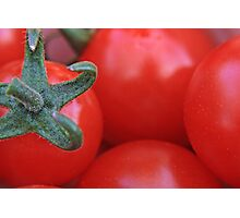 Cherry Tomatoes Photographic Print