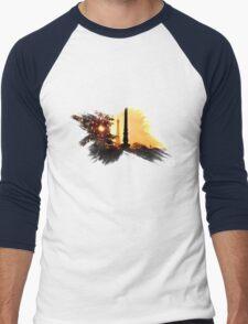 Paris Sunset - Capital - France Men's Baseball ¾ T-Shirt