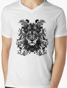 African Ink Mens V-Neck T-Shirt