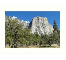 Yosemite - El Capitan Art Print