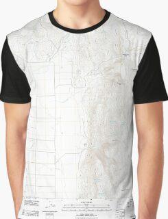 USGS Topo Map Oregon Mahon Creek 20110831 TM Graphic T-Shirt